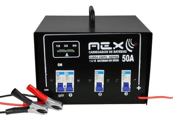 Carregador Baterias Automotivo 12 Volts Até 15 Baterias Nfe