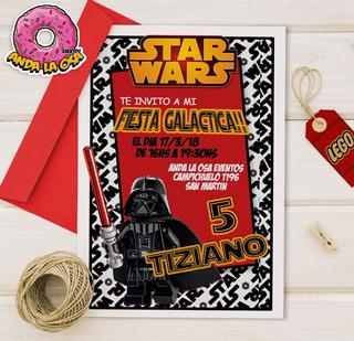 Tarjetas De Cumpleaños Star Wars En Mercado Libre Argentina