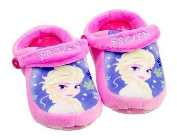 Pantufa Infantil Frozen Modelo Crocs Original Ricsen