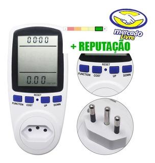 Medidor De Consumo Bivolt 110v 220v Wattimetro Digital Br