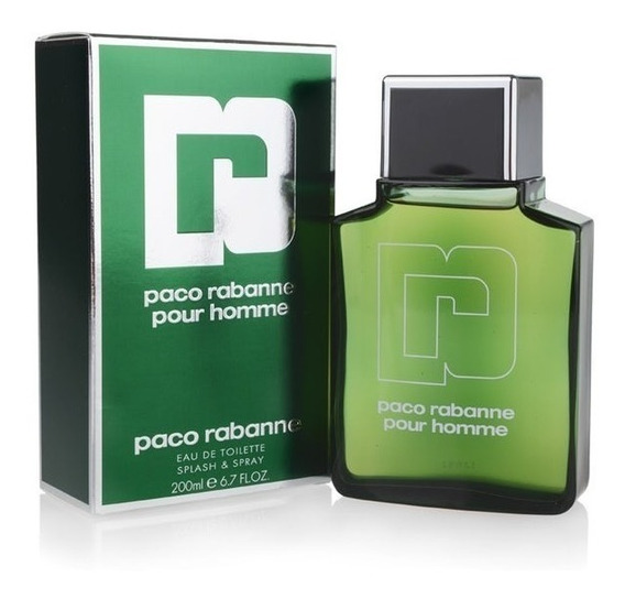 Perfume Paco Rabanne Pour Homme 200ml Original