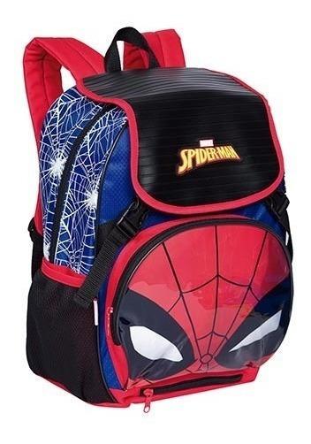 Mochila Homem-aranha Spider Man Sestini Led E Capa 065362-00