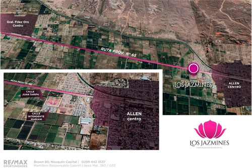 Terreno En Venta, Urbanización Los Jazmines, Allen