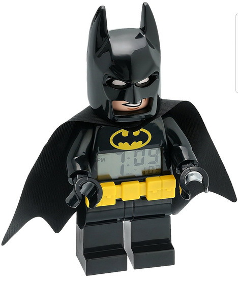 Reloj Despertador Lego Batman Nuevo