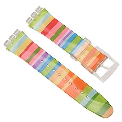 Correa Multicolor Para Reloj Swatch 19mm