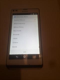 Telefono Xperia L C2104 Con Detalle