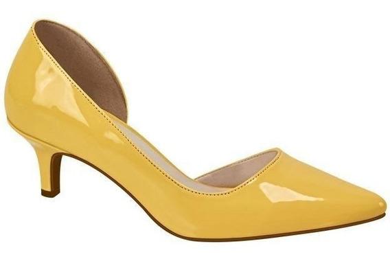 Zapatillas Dama Marca Yaeli F Cv79 Amarillo