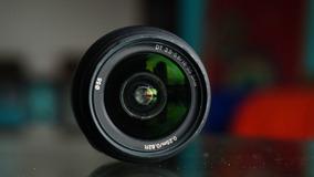 Lente Sony 18-55mm A-mount Com Filtro Uv