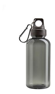 Botella Plástica Camp 600 Ml Con Tapa A Rosca Mosquetón Libre De Bpa Aprobada Por Inal Para Contacto Con Alimentos