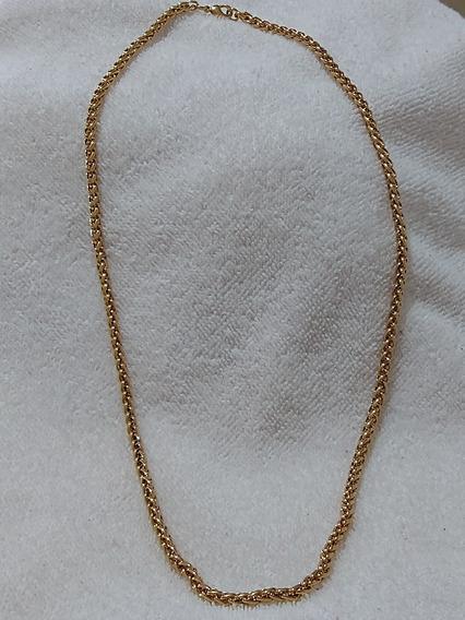 Kit Com 10 Pulseiras Em Aço Inoxidável Dourada