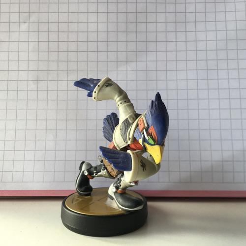 Imagen 1 de 1 de Amiibo Falco Super Smash Bros. Wave 7