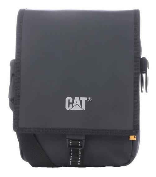 Tablet Bag Caterpillar Unisex 83681-01 Black Synthetic
