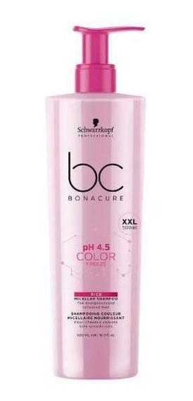 Schwarzkopf Bc Bonacure Ph 4.5 Color Freeze Shampoo Micelar
