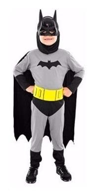Disfraz Batman Clasico Licencia Original Sulamericana