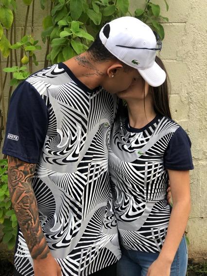 Camiseta Lacoste Kit Casal
