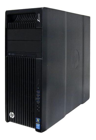 Workstation Hp Z640 2x Intel Xeon E5-2620 32gb 250gb - Usado