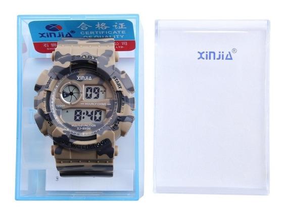 Relógio Xinjia Xj Sport Digital Prova D´agua Militar Tatico