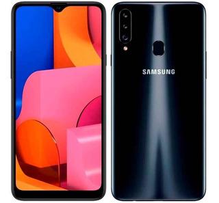 Samsung Galaxy A20s Pant 6.3 32gb 3 Cam Carga Rápida