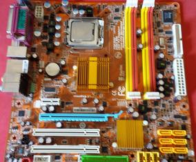 Placa Mãe St 4262 Defeito + Processador Intel Core 2 Duo