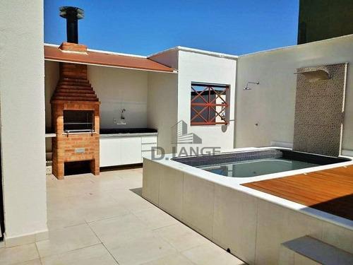 Cobertura Com 3 Dormitórios À Venda, 156 M² Por R$ 615.000,00 - Taquaral - Campinas/sp - Co0308