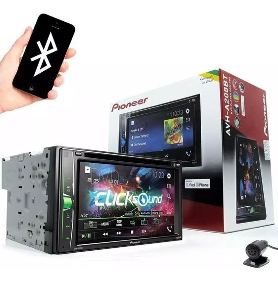 Dvd Player 2 Din Pioneer Avh-a208bt Bluetooth Usb