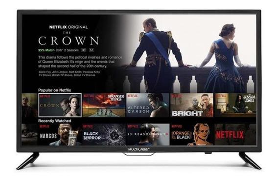 Smart Tv Led 32 Polegadas Hd Wi-fi Hdmi Multilaser Tl002