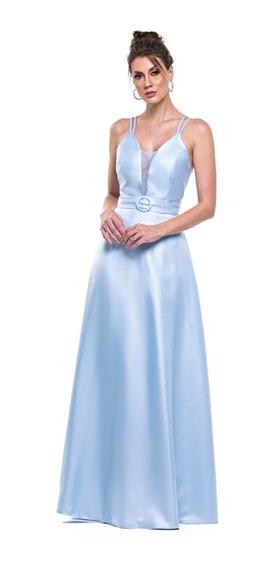Vestido Zibeline Varias Cores Rodado Com Alcinha