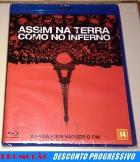 Blu-ray Assim Na Terra Como No Inferno (lacrado)