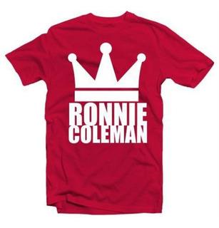 Camiseta Ronnie Coleman Academia Musculação