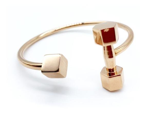 Pulseira Bracelete Feminina Ouro Rose