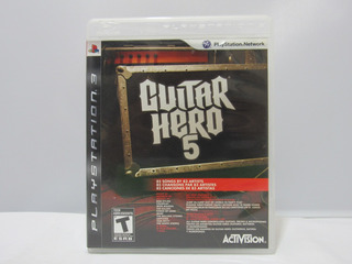 Guitar Hero 5 - Ps3 ¡fisico-usado!