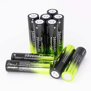 Bateria Litio Pila Skywolfeye 18650 De 5800mah Recargable