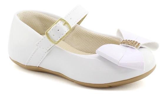 Sapatilha Infantil Menina Sapato 19 A 27 Laço Promoção 2117