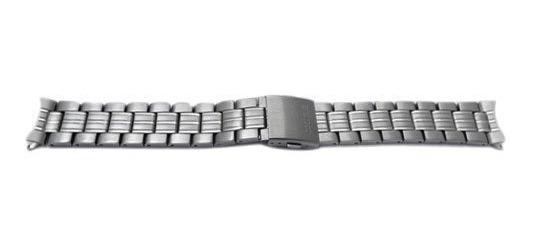 Seiko Acero Inoxidable Push Button Doblar-sobre Reloj Pulser