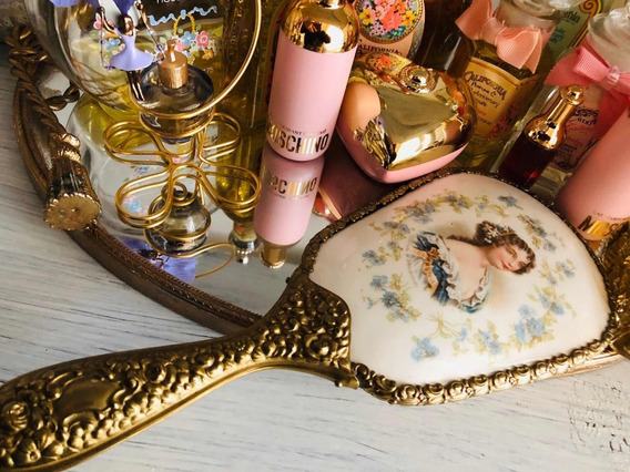 Espejo Antiguo Duchesse De Montpensier