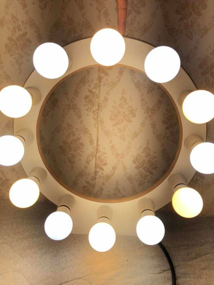 Ring Ligth Profissional 12 Bocais Luz Quente E Fria