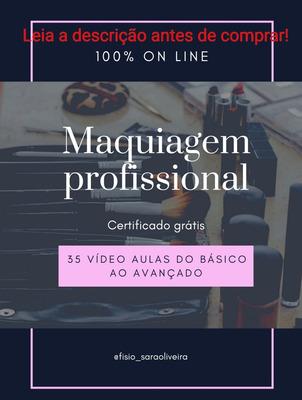 Curso Maquiagem Profissional Online Rápido