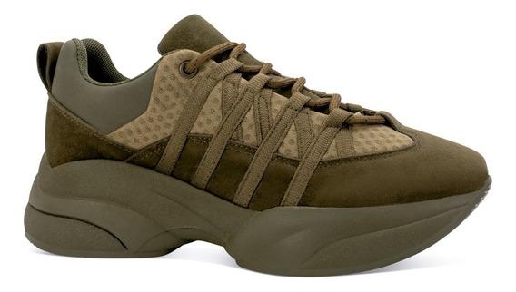 Cream Soda Tenis Sneakers Casual Plataforma Militar 3371111