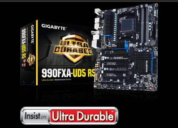 Placa Mãe Ga-990fxa-ud5 R5