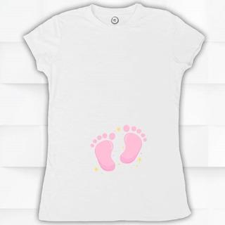 Playera Para Mujer, Embarazada Bebe #1670