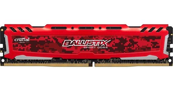 Memoria Ram Ddr4 4gb Disipador Pc Gamer