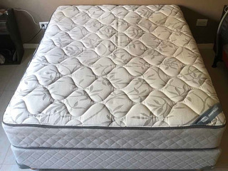 Colchon Y Sommier Simmons Deep Sleep 2 Plazas 190x140
