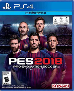 Pro Evolution Soccer 2018 (pes) Ps4