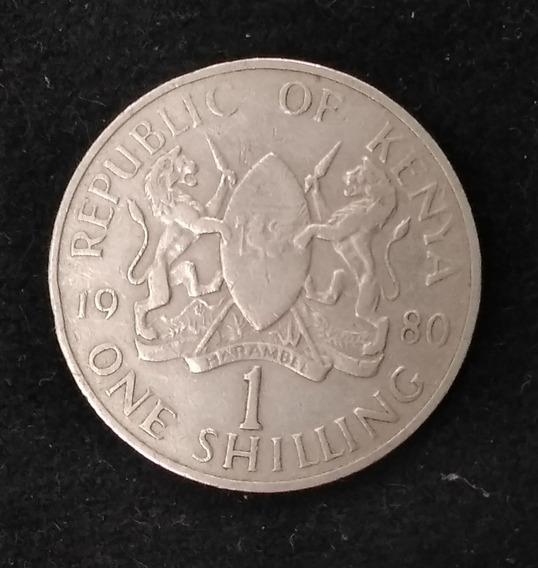 Kenia Moneda1 Shilling 1980 Km#20 - Argentvs