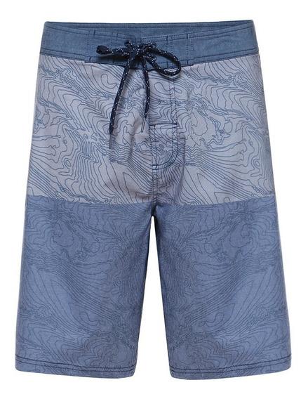 Short Hombre Shark Boardshort Azul Lippi