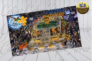 Papel De Arroz Comestível Beija Flor De Nilópolis Carnaval