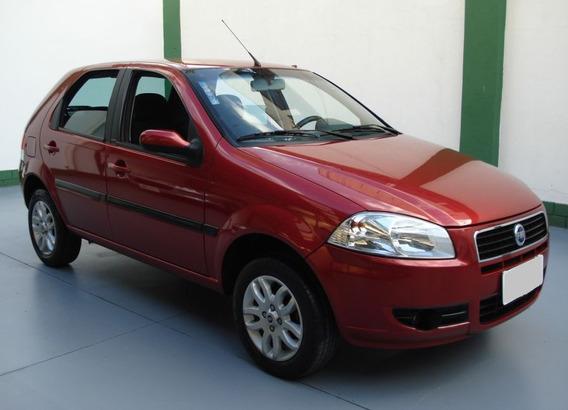 Fiat Palio 1.4 Elx Manual 4p 2008 Flex Vermelho.