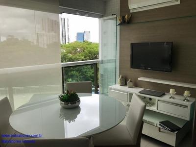 Apartamento 112m² Le Parc Com 2 Suítes Masters - Residencial Le Parc - Ap00668art