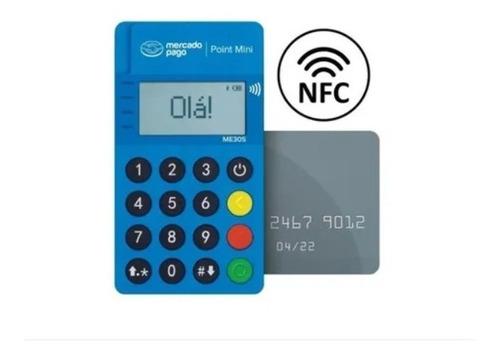 1 Máquina Maquininha Point Mini Cartão Crédito E Débito