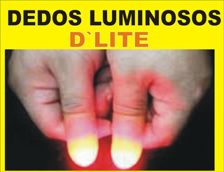 Trucos De Magia Dedos Luminosos Par D Lite Luz En Las Manos